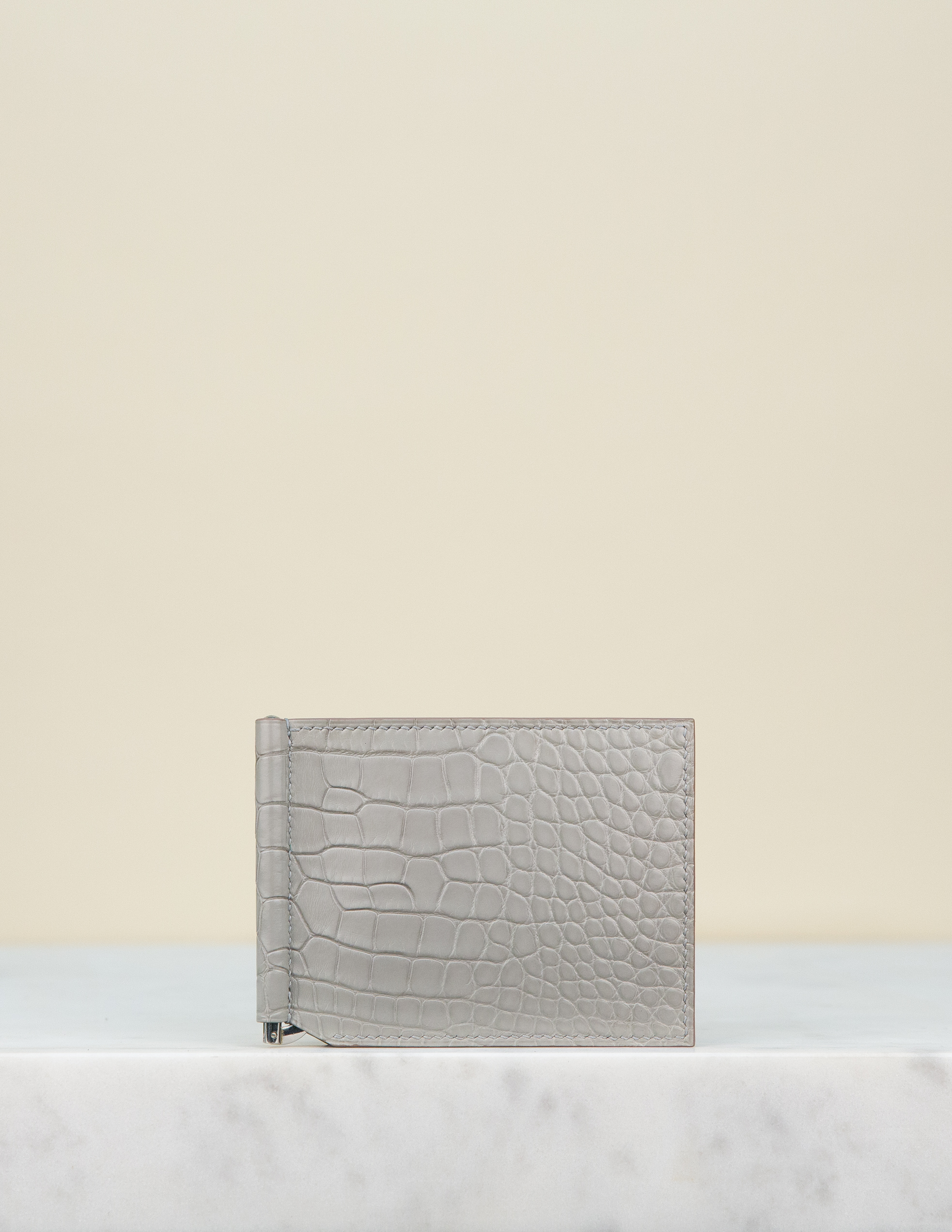 Money Clip Wallet - Grey by Chance Mystère on curated-crowd.com