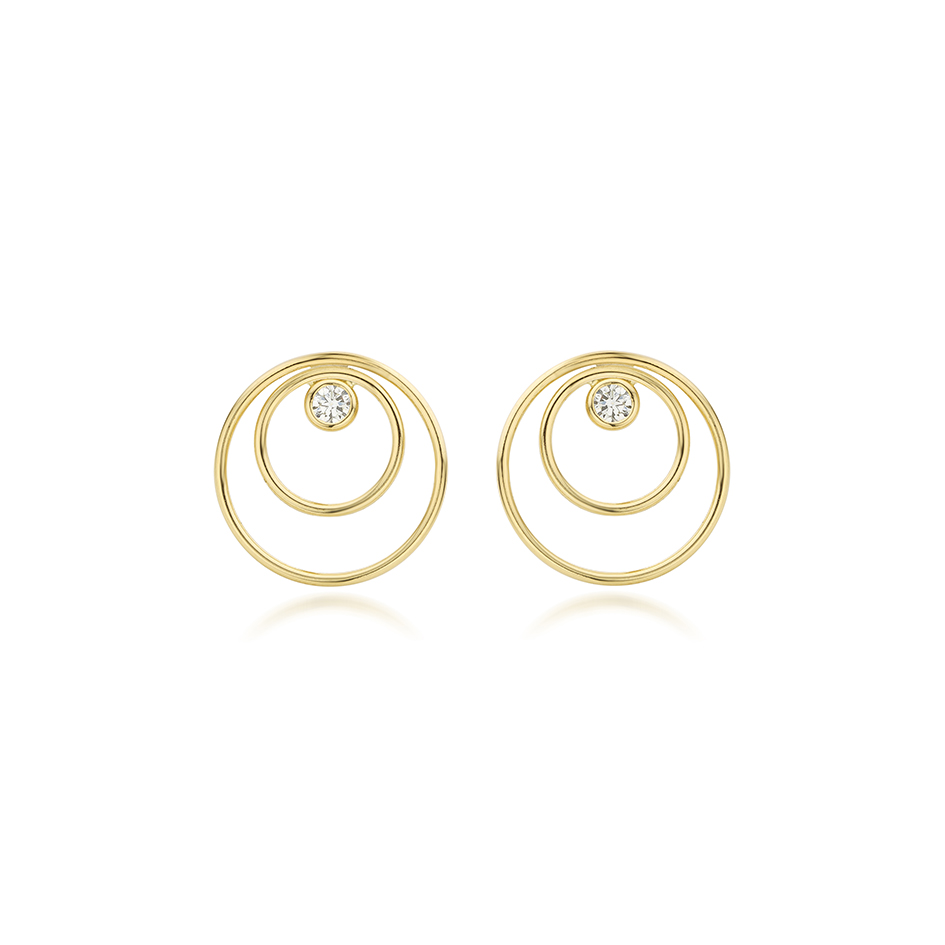 Contour Earrings by N-ue on curated-crowd.com