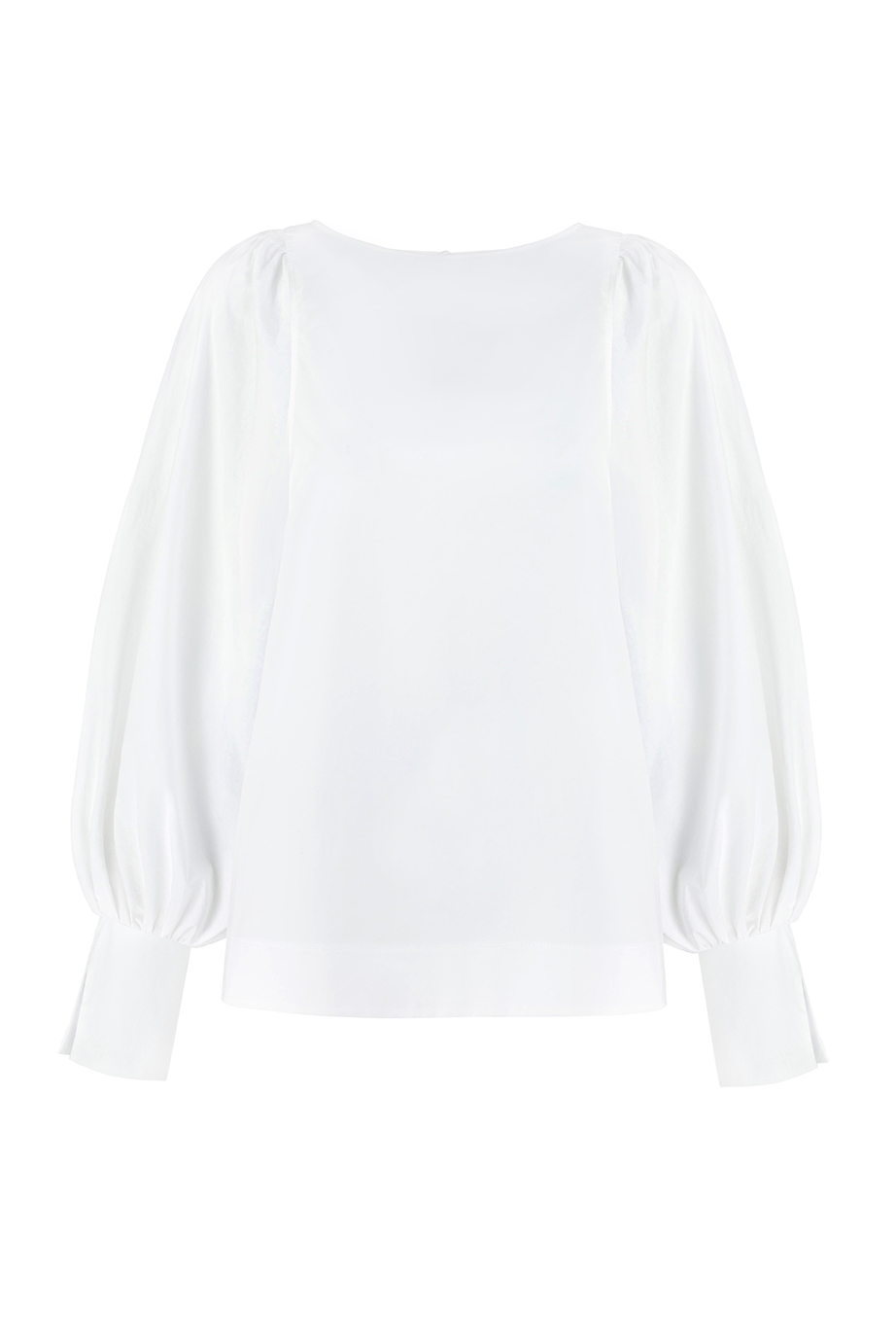 Aida Shirt - White by Monica Nera on curated-crowd.com