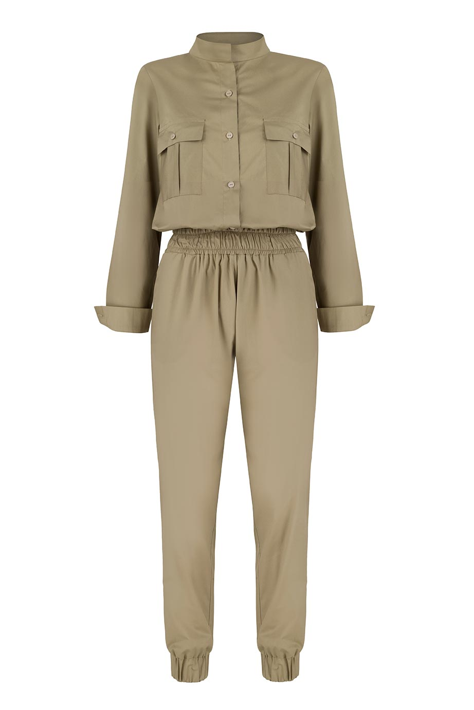 Jordan Maxi Jumpsuit by Monica Nera on curated-crowd.com