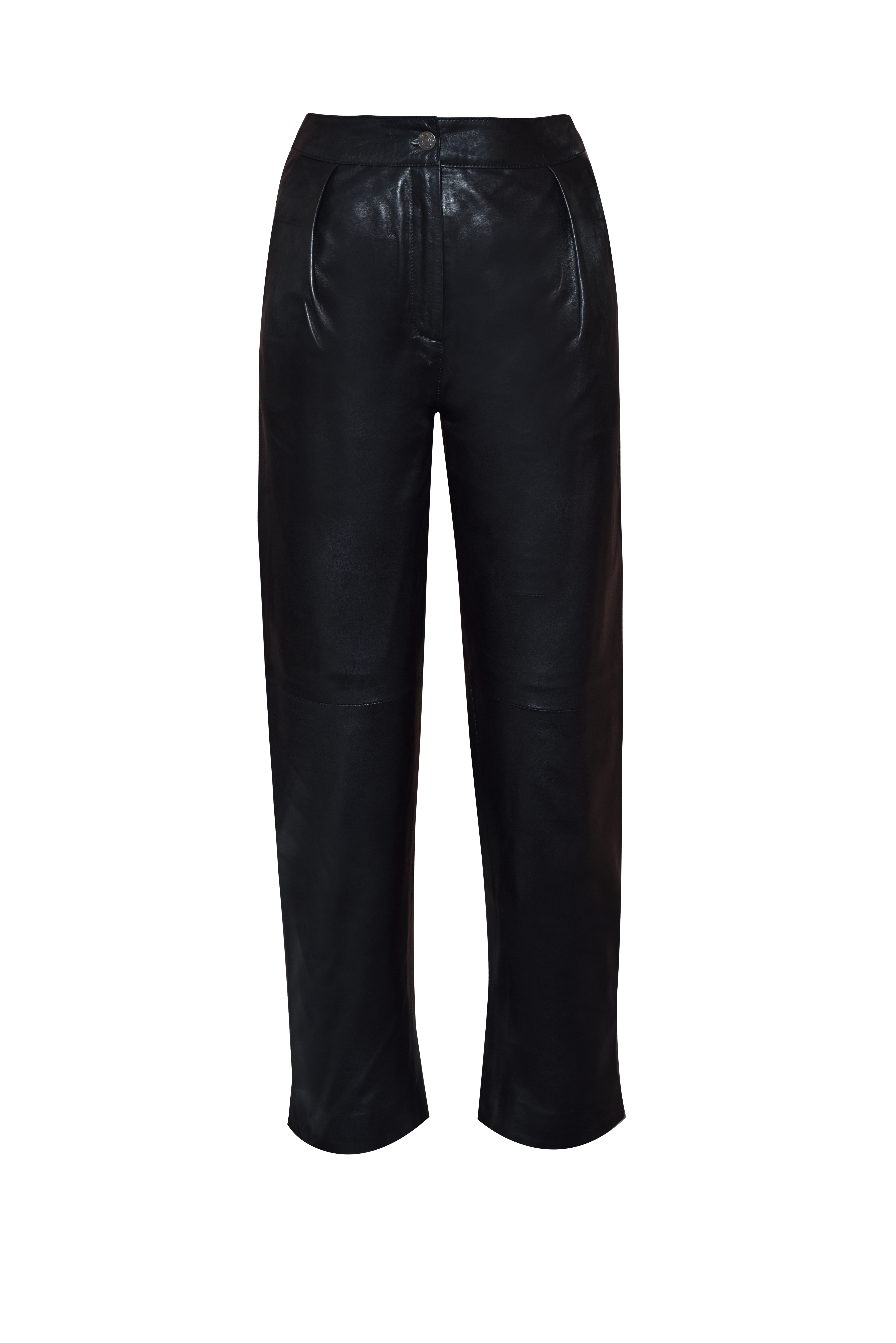 Peg Leather Pants by The Ruf on curated-crowd.com