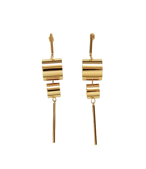 Earrings Rohre by Maramz on curated-crowd.com
