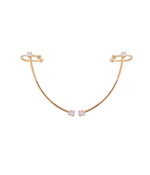 P del Oro Earrings by Maramz on curated-crowd.com
