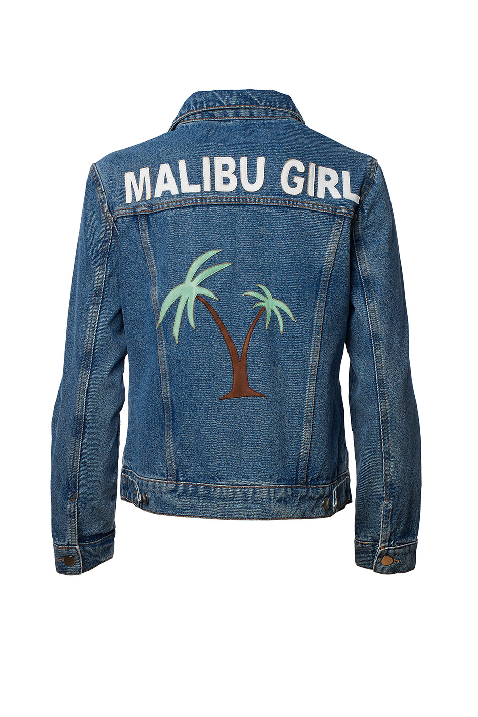 Customised Denim Jacket for Kids by Jn Llovet on curated-crowd.com