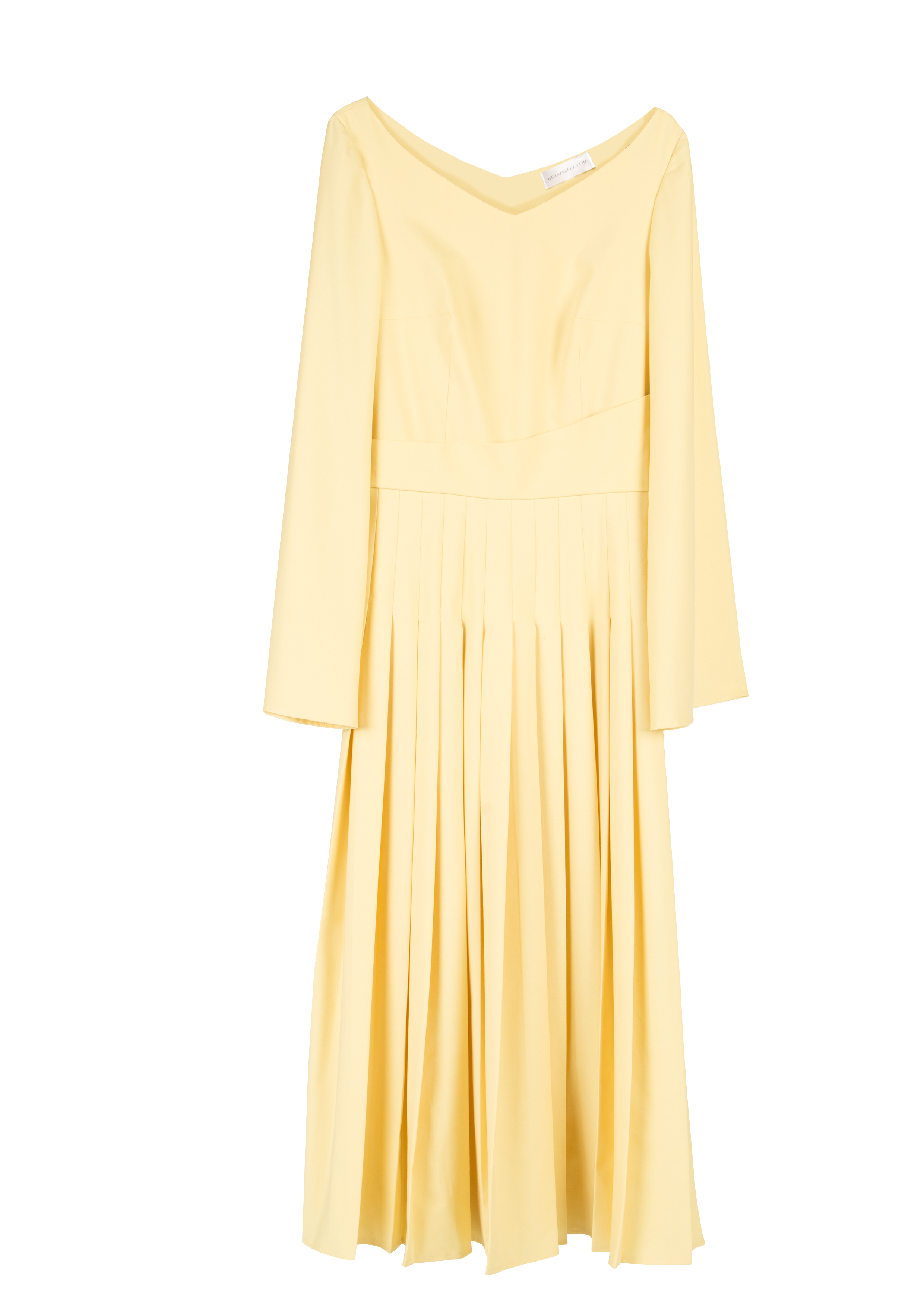 Bell Sleeves Midi Dress by Diana Kimbayeva on curated-crowd.com