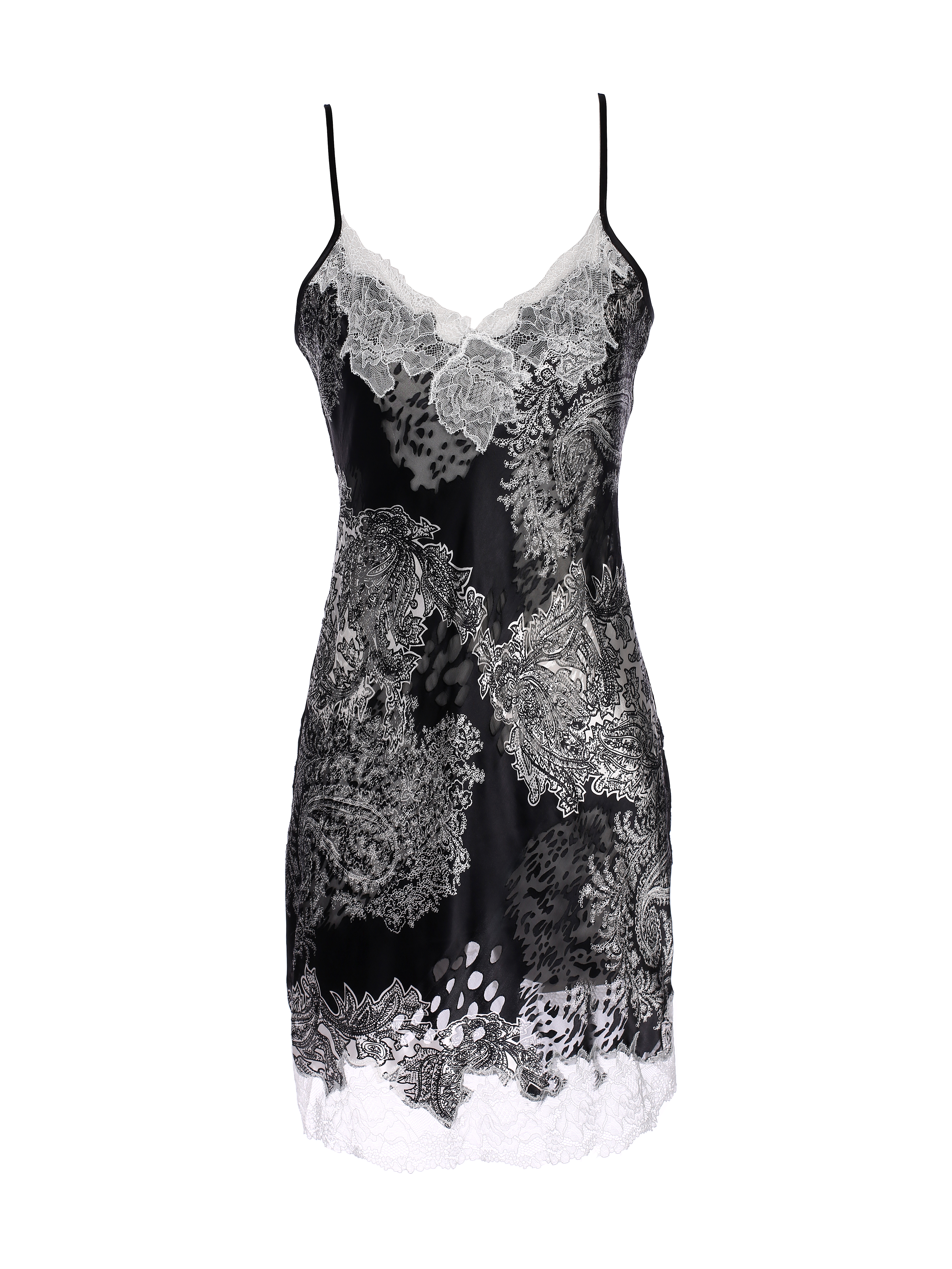 Silk & Lace Royal Babydoll by Lucia Berutto on curated-crowd.com