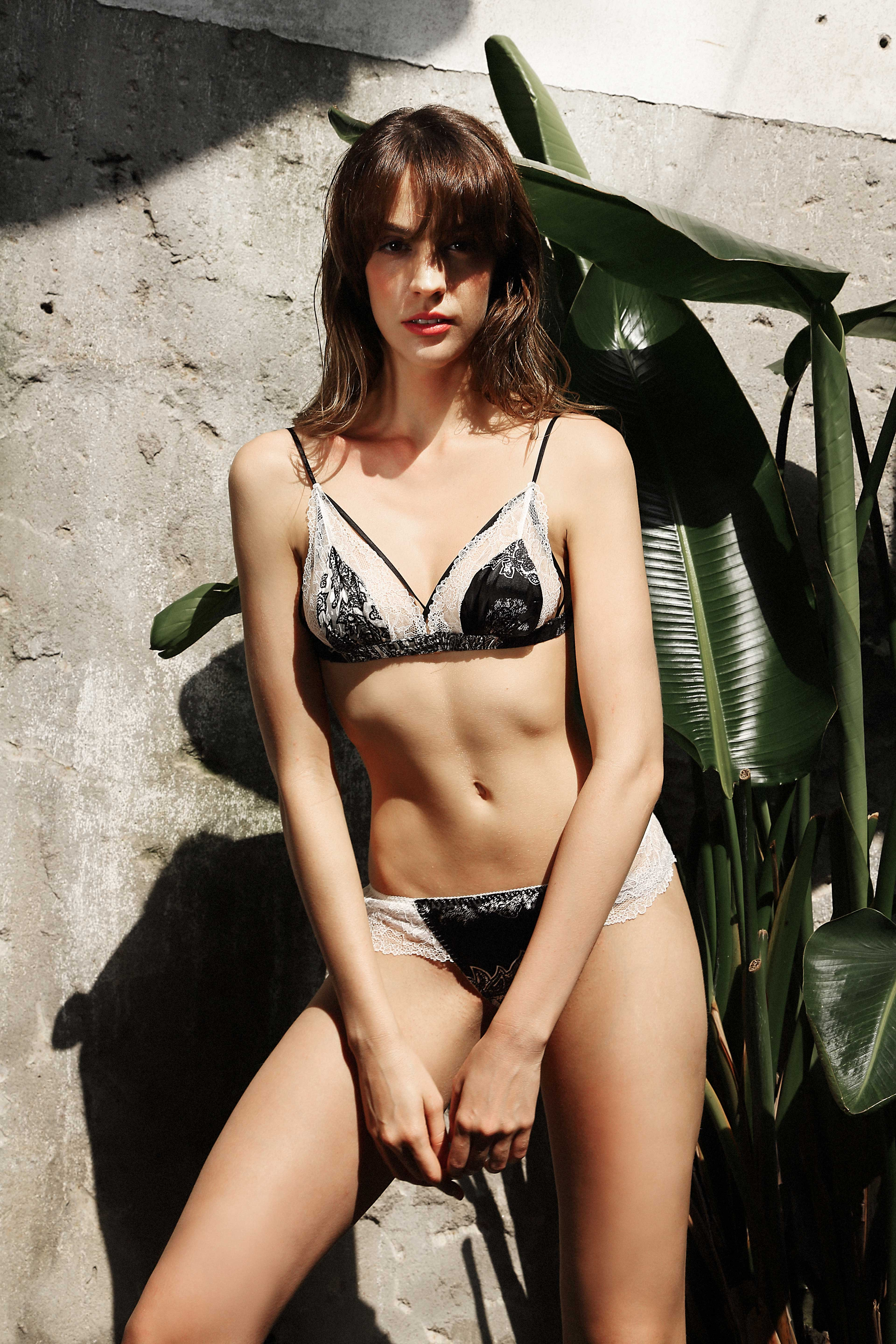 Silk & Lace Briefs by Lucia Berutto on curated-crowd.com