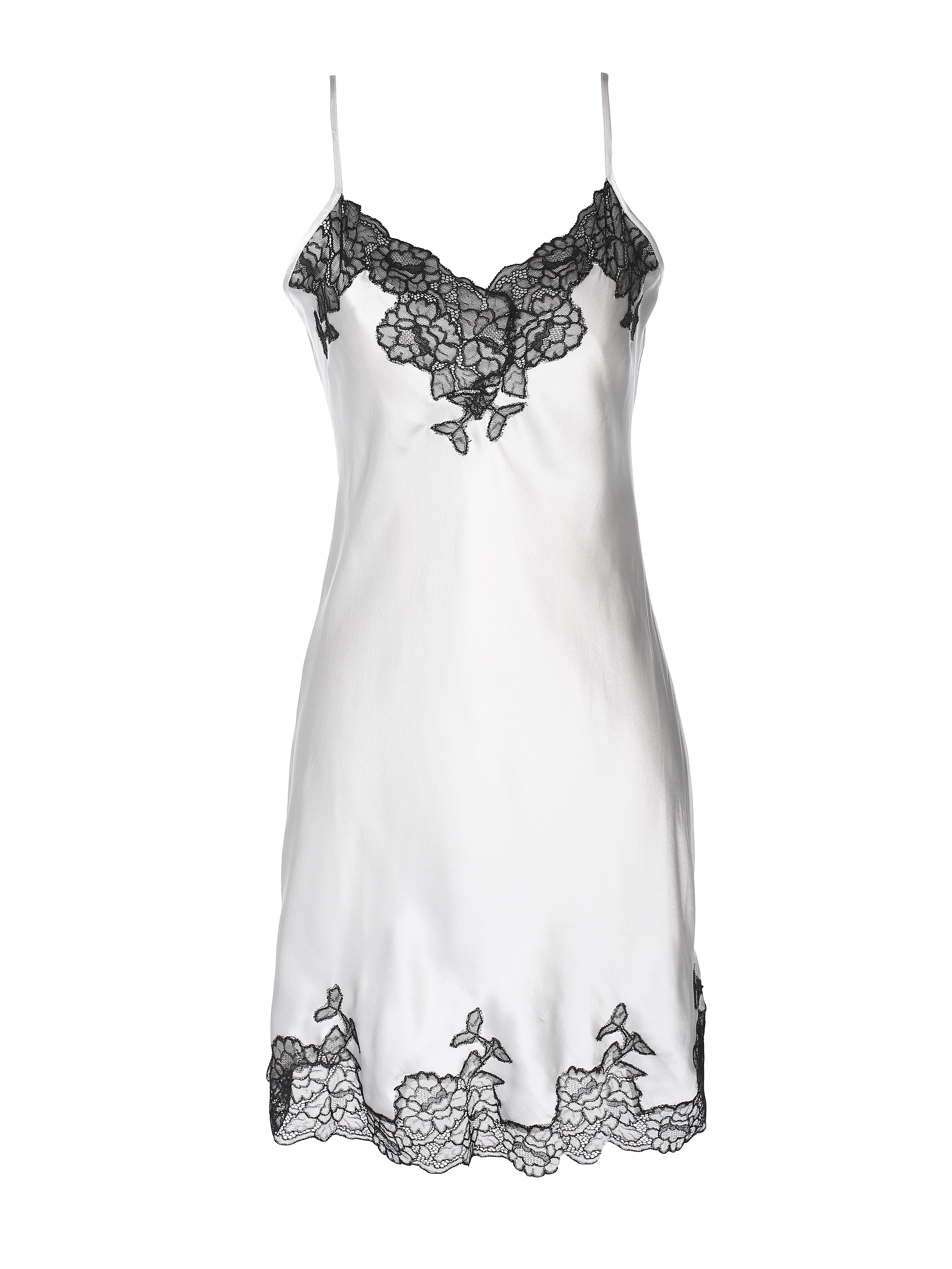 Silk & Lace Babydoll by Lucia Berutto on curated-crowd.com