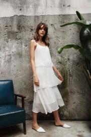 Silk Long Tunic by Lucia Berutto on curated-crowd.com