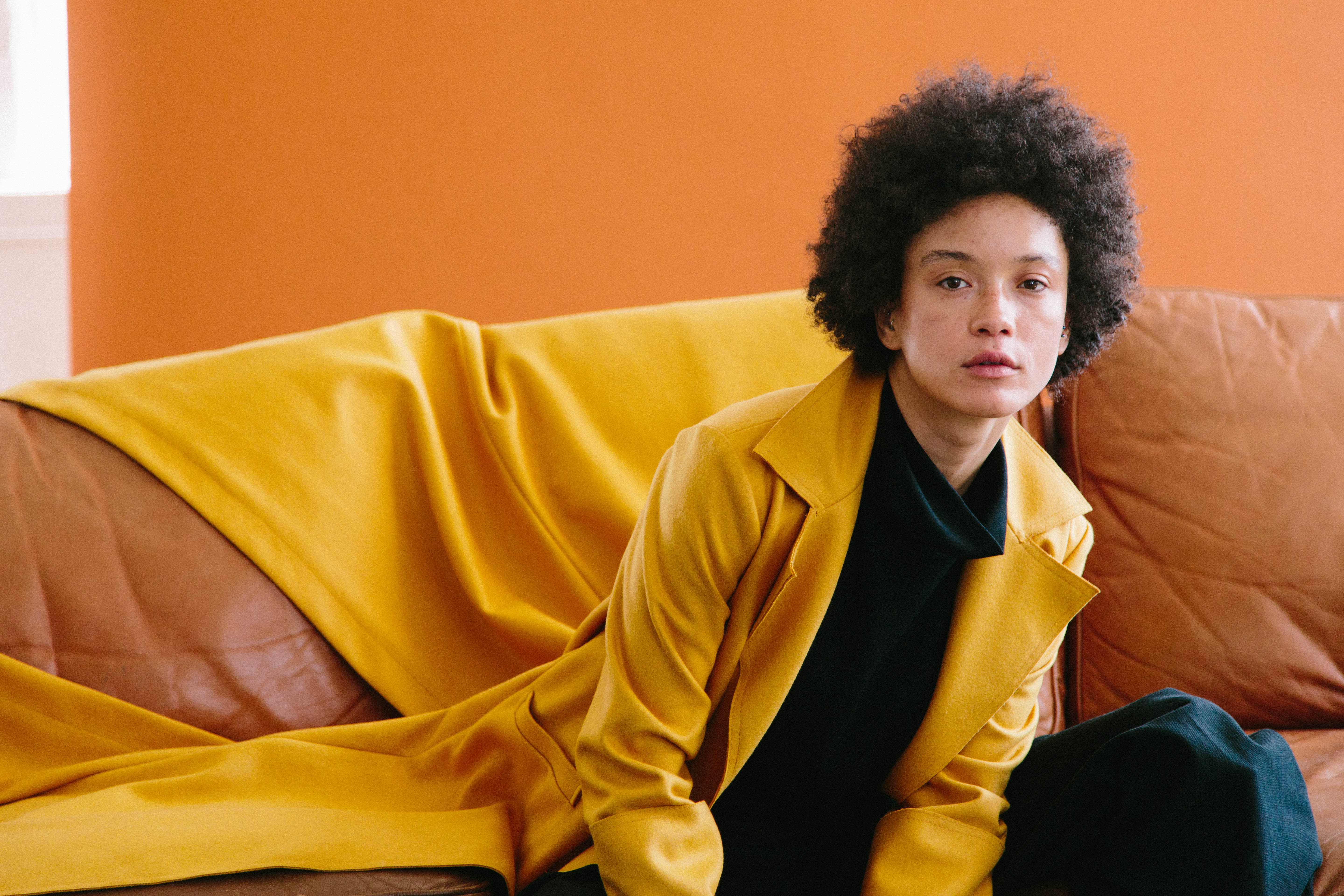 Dancing In Mustard Coat by Mariam Alsibai on curated-crowd.com