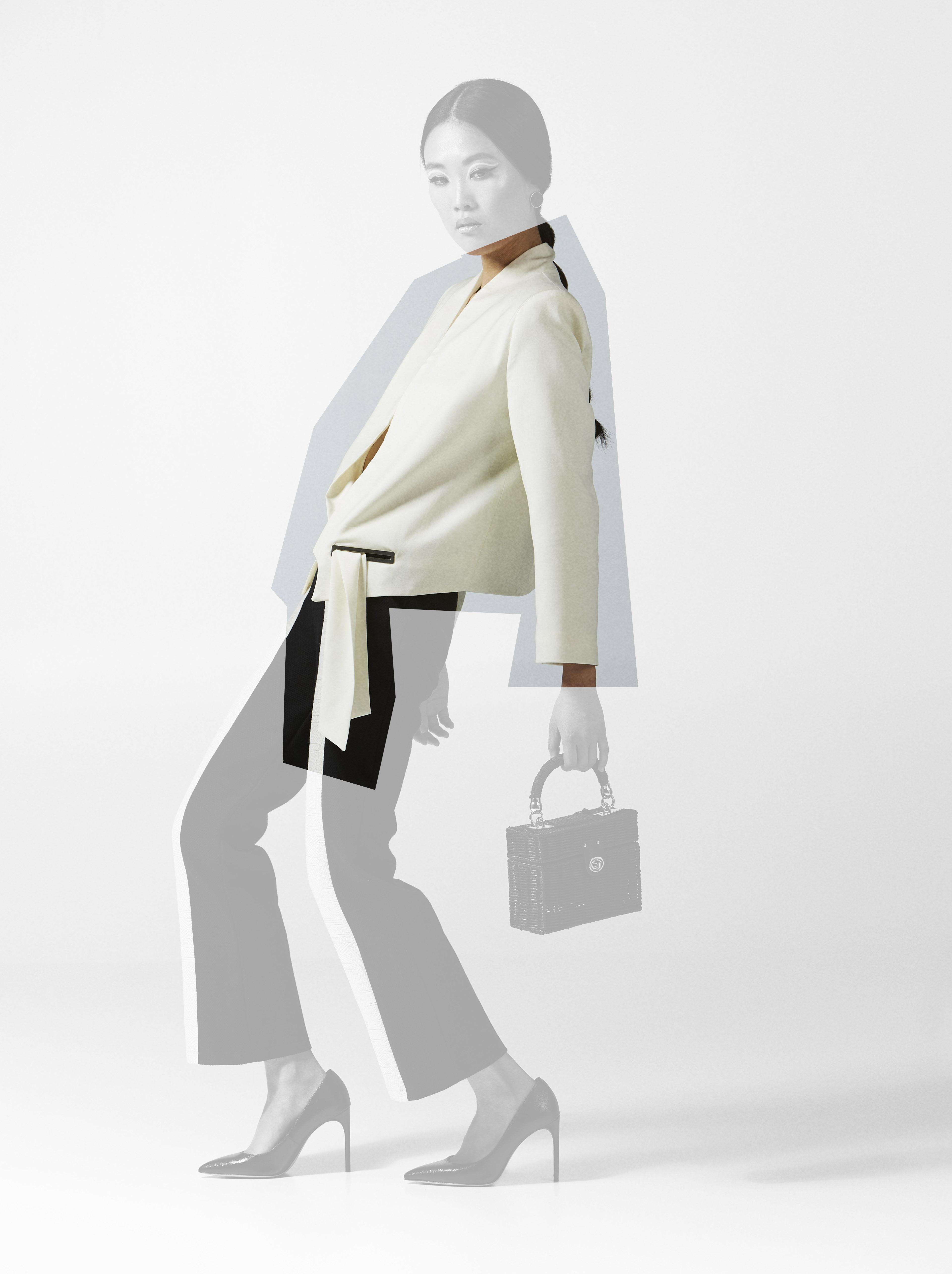 Kodah White Blazer by Sidikai on curated-crowd.com