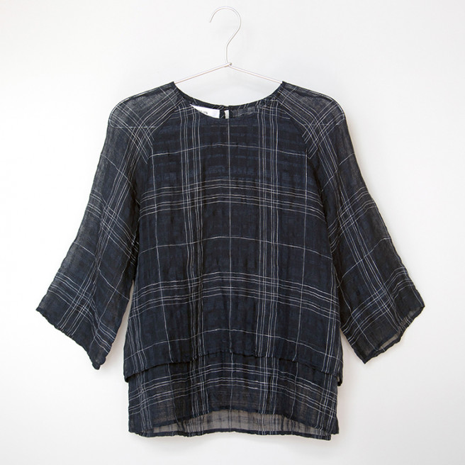 Sally Linen Top by Quin on curated-crowd.com