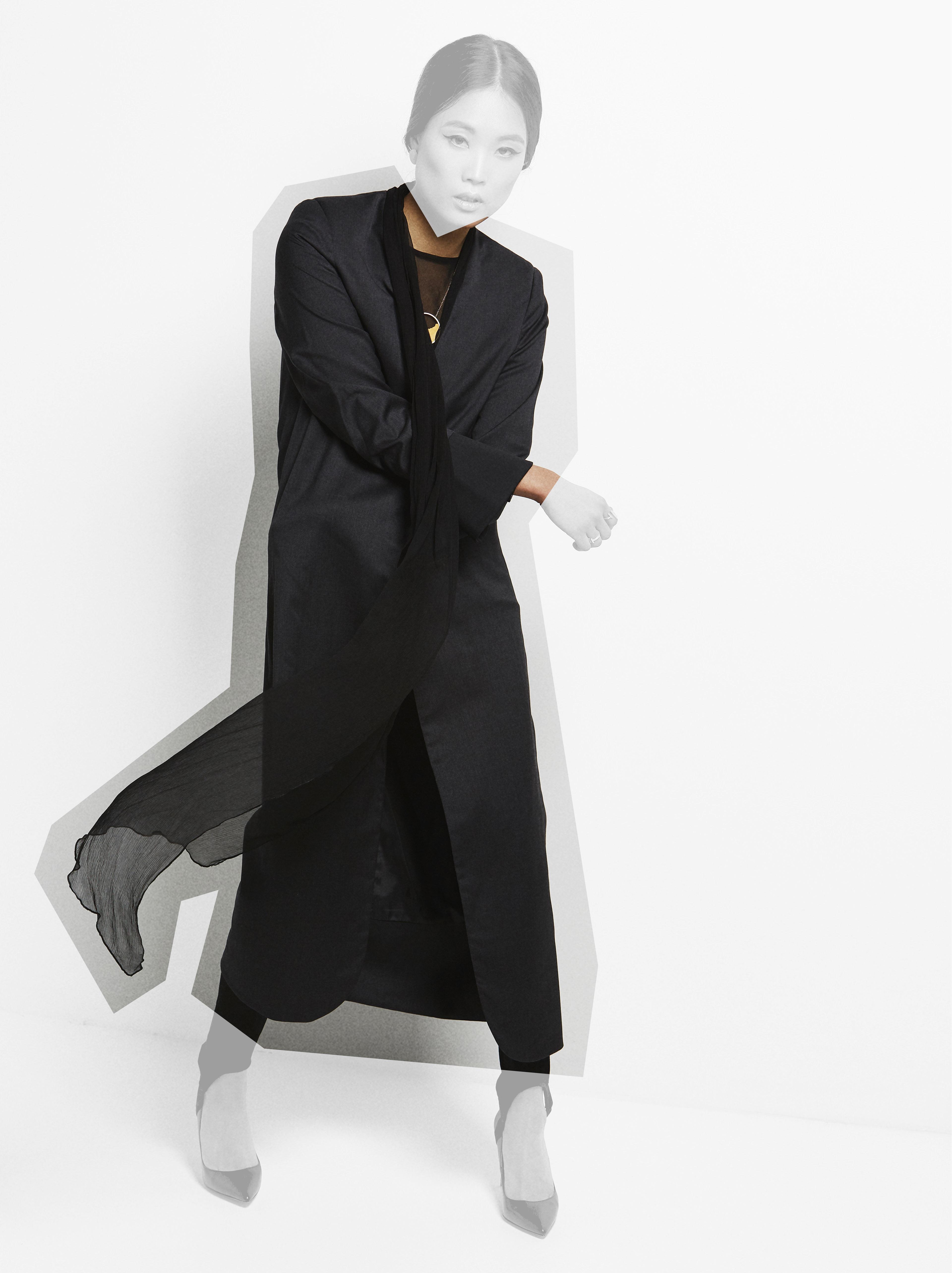 Kodah Black Coat by Sidikai on curated-crowd.com
