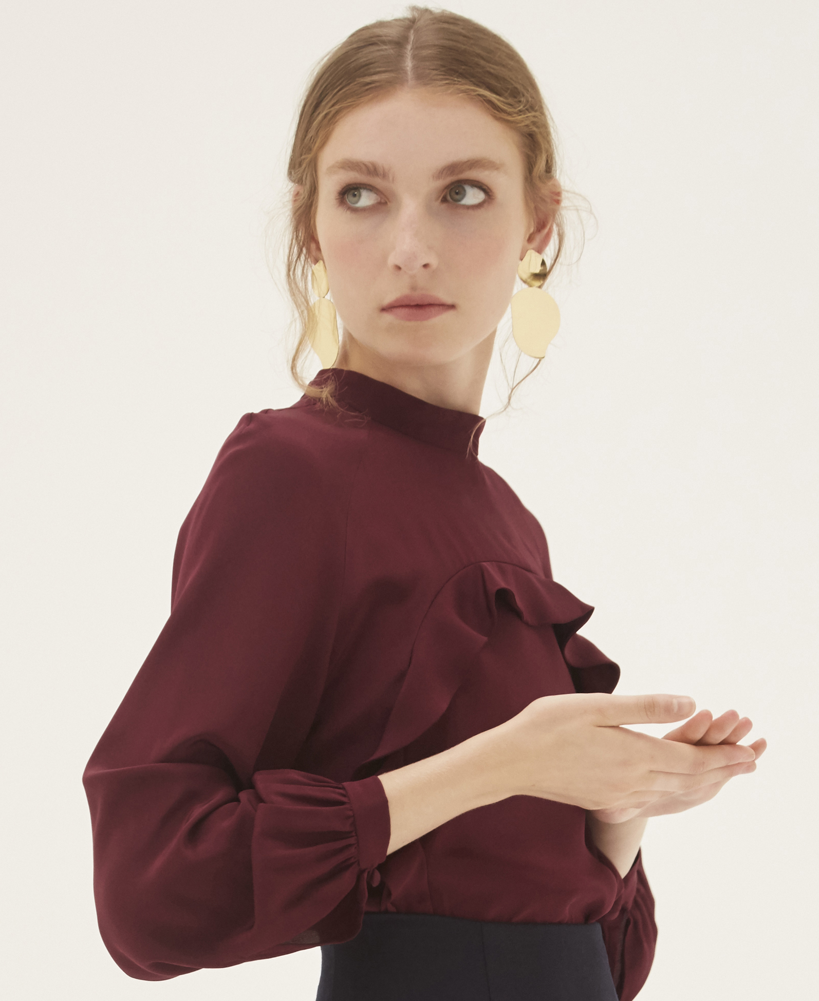 Angelica Blouse by Bozena Jankowska on curated-crowd.com
