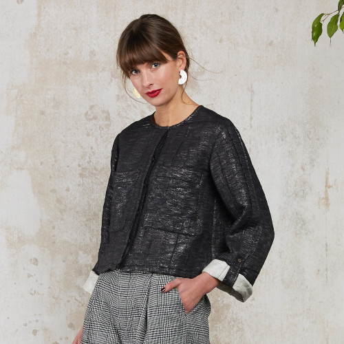 Silvia Boxy Blouse by Quin on curated-crowd.com
