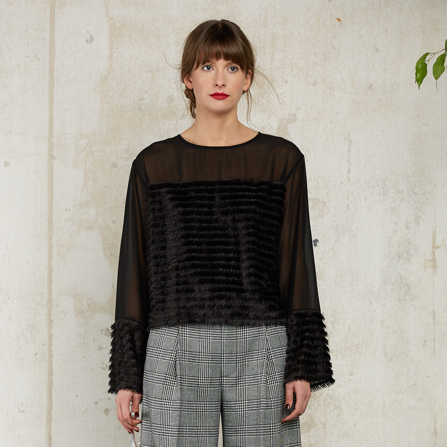 Leona Fringe Top by Quin on curated-crowd.com