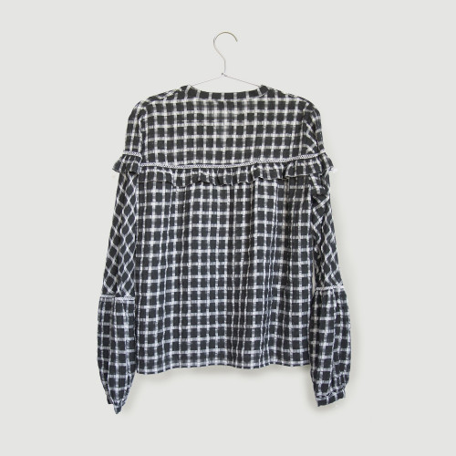 Yvonne Boho Blouse by Quin on curated-crowd.com
