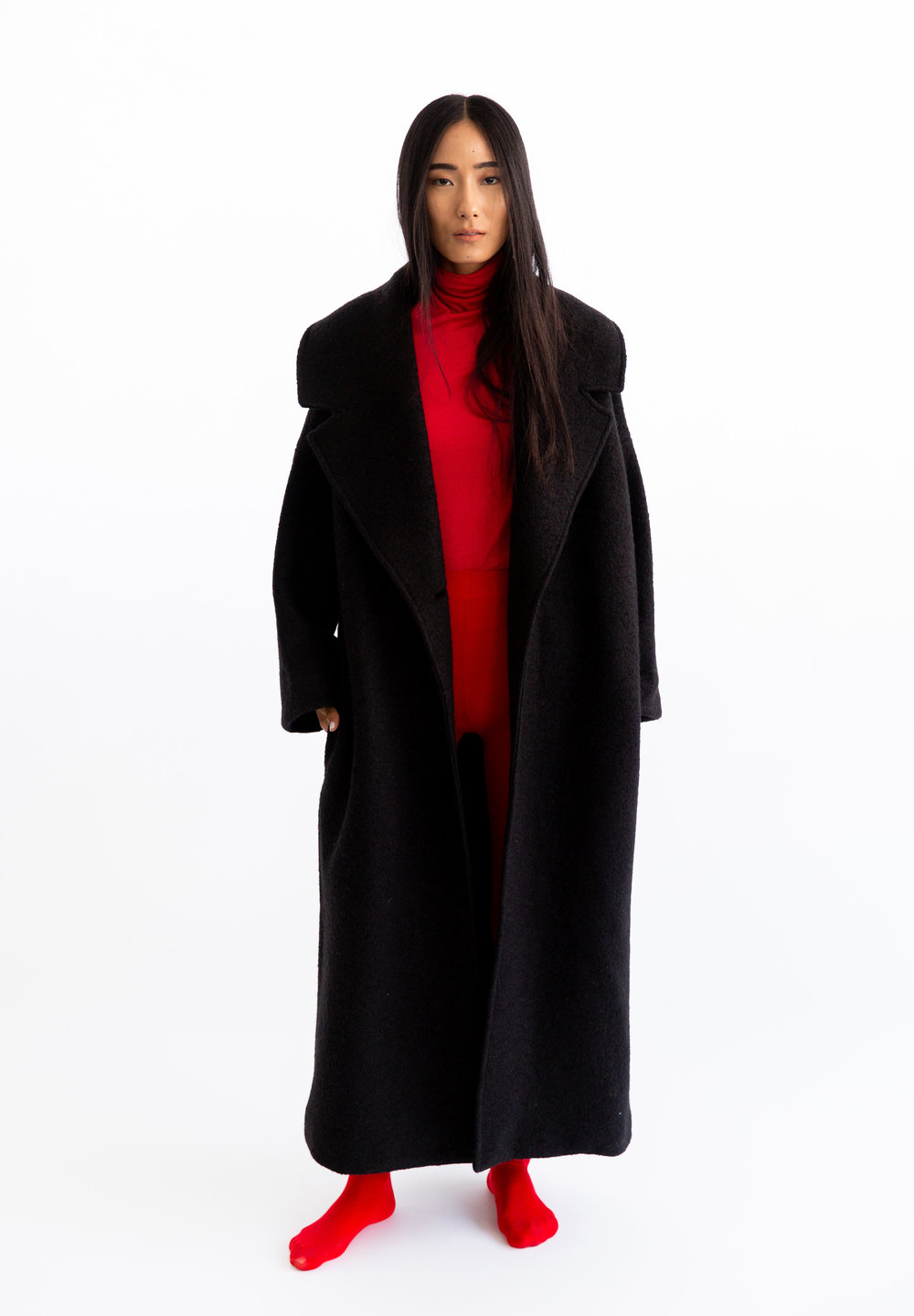 Jet Black Blanket by Mariam Alsibai on curated-crowd.com