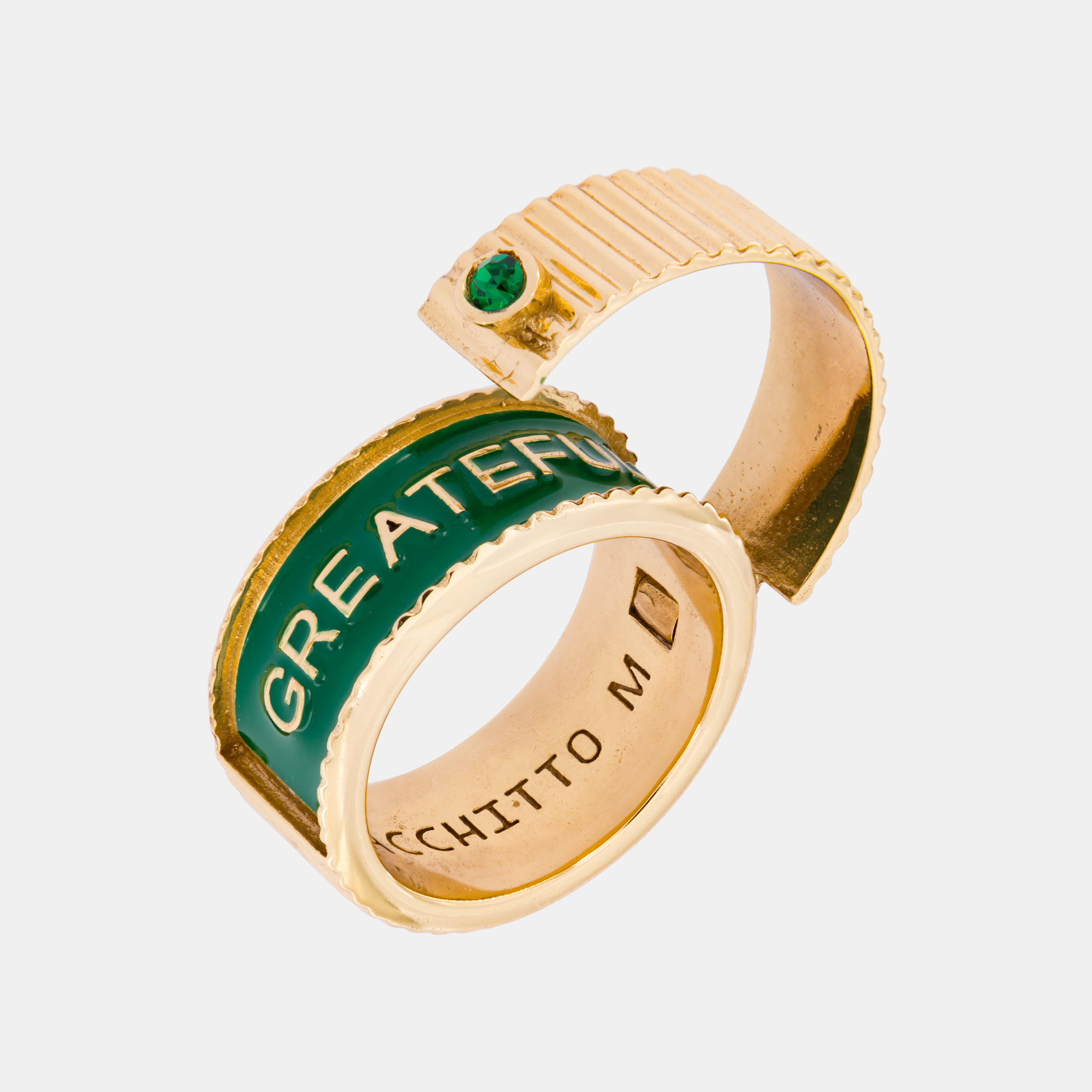 Aperio Greatfull Ring by Acchitto on curated-crowd.com