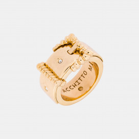 Aperio Coeurage Ring by Acchitto on curated-crowd.com