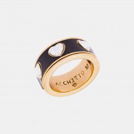 Aperio Ama Me Ring by Acchitto on curated-crowd.com