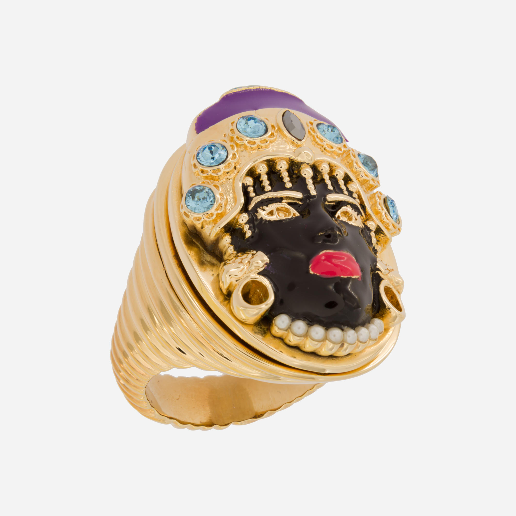 Woman Moor Ring by Acchitto on curated-crowd.com