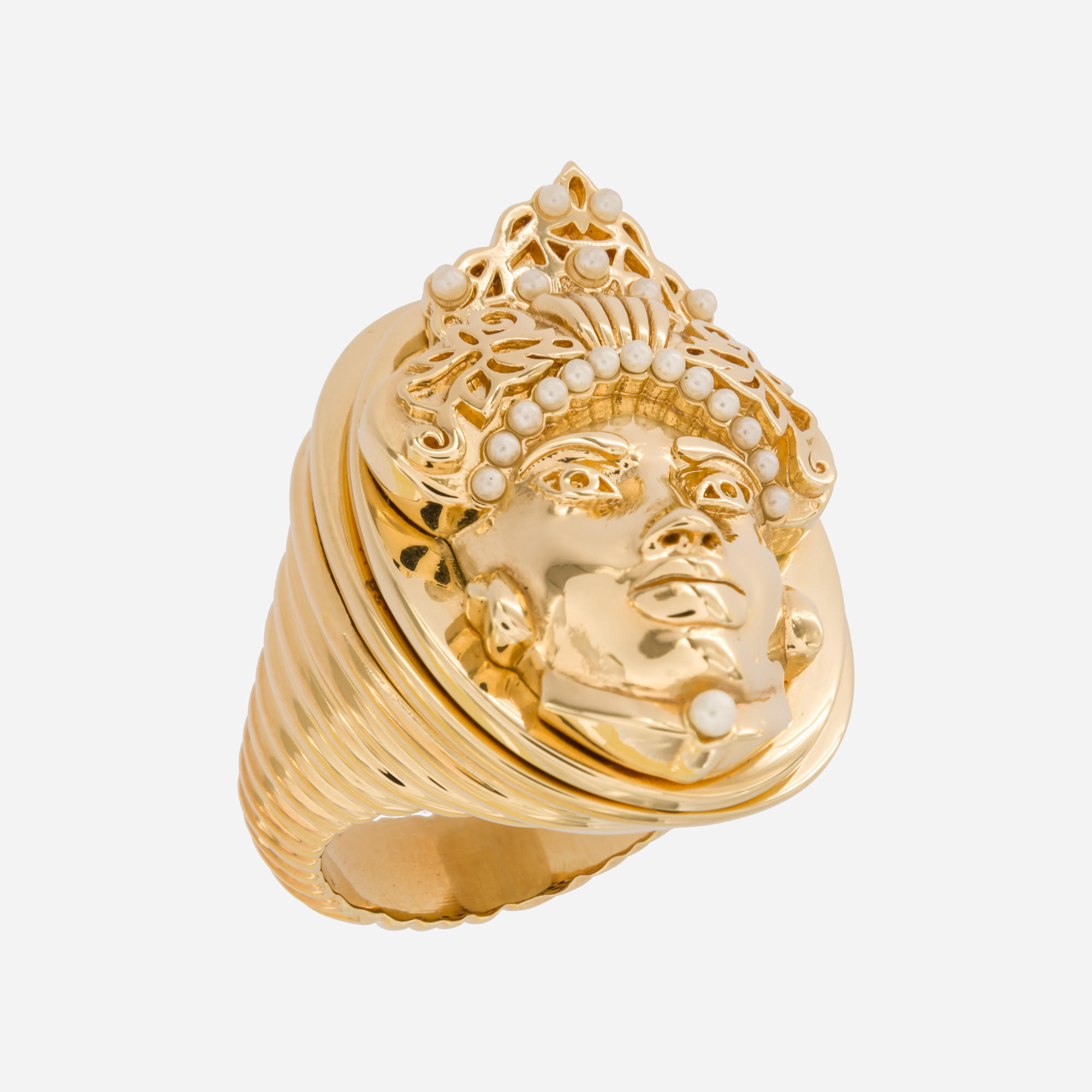 Hybrid Moor Gold Ring by Acchitto on curated-crowd.com