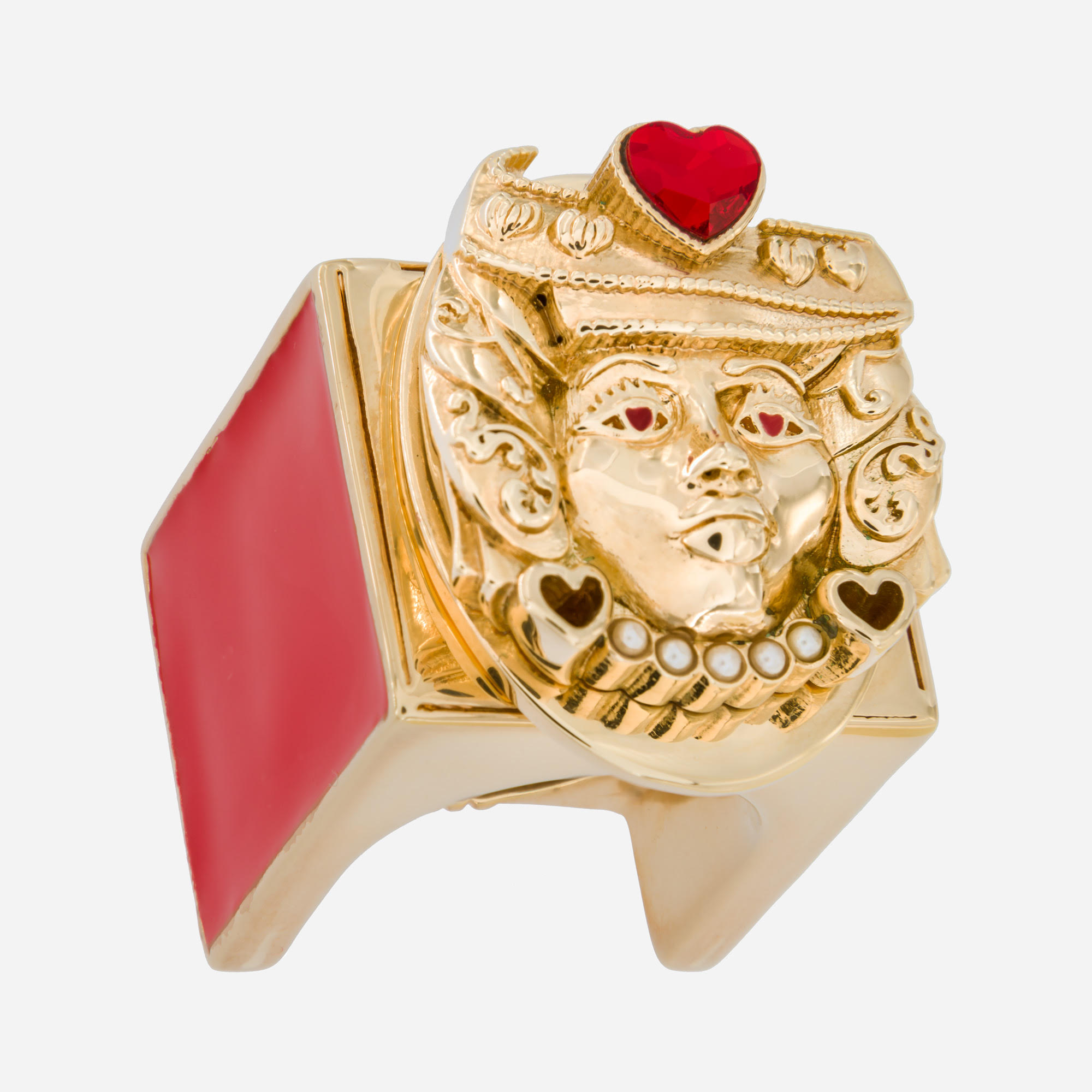 Lover Moor Gold Ring by Acchitto on curated-crowd.com