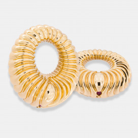 Aequor Wave Earrings by Acchitto on curated-crowd.com