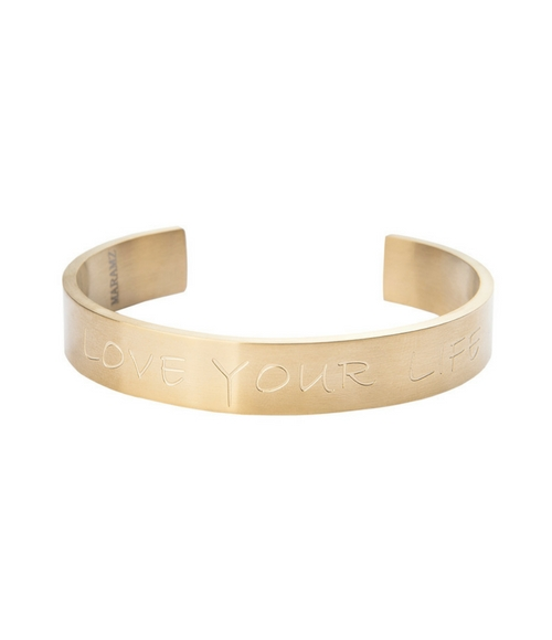 Bracelet Love Your Life by Maramz on curated-crowd.com