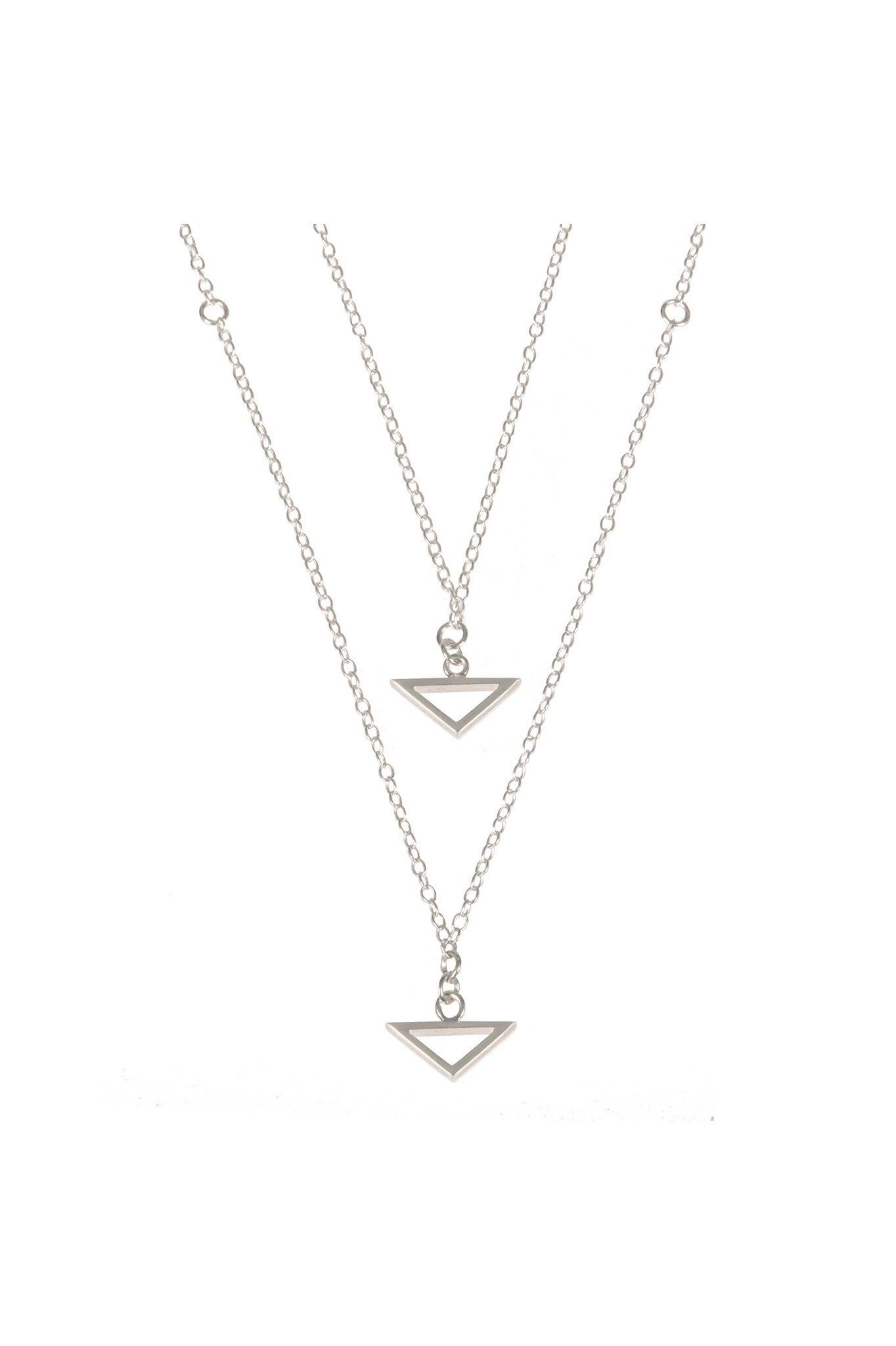 Double Trouble, Silver Necklace by Sally Lane Jewellery on curated-crowd.com