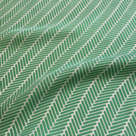 Herringbone Lapis Silk Scarf, Jade Green by Nonamu on curated-crowd.com