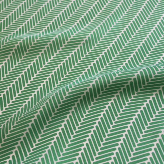 Herringbone Lapis Silk Scarf, Jade Green by Nonamu on curated-crowd.com