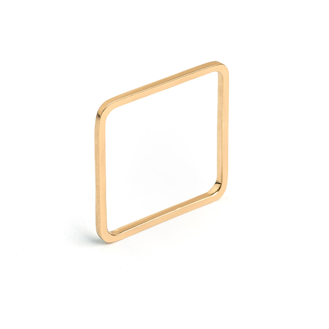 Quad Ring, 14k Gold by The Straits Finery on curated-crowd.com