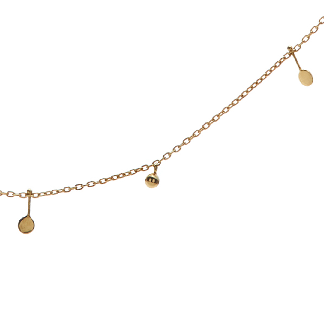 Malai Necklace, 14k Gold by The Straits Finery on curated-crowd.com