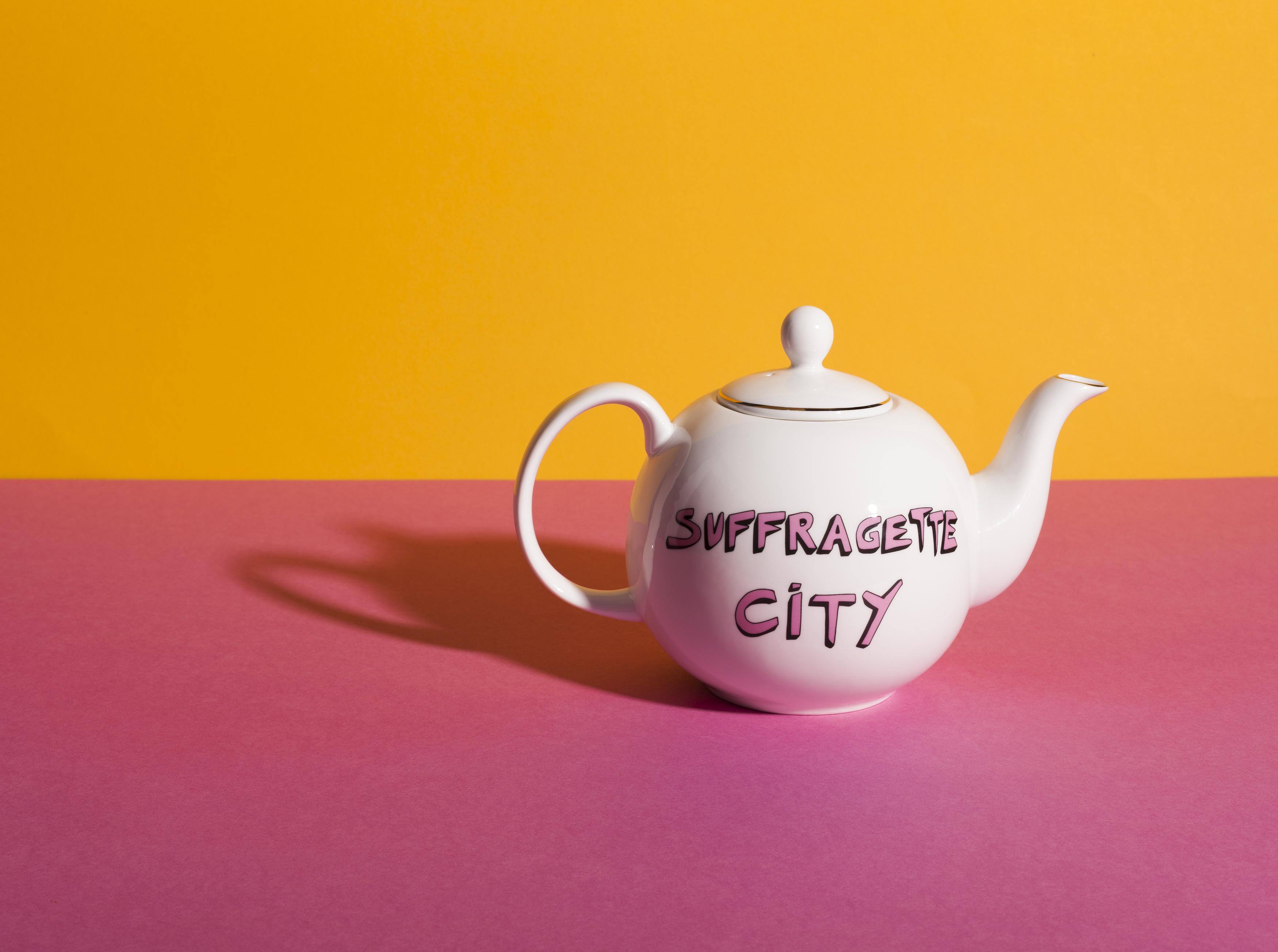Bella Freud x Gillian Wearing Range Tea Pot by Plinth on curated-crowd.com