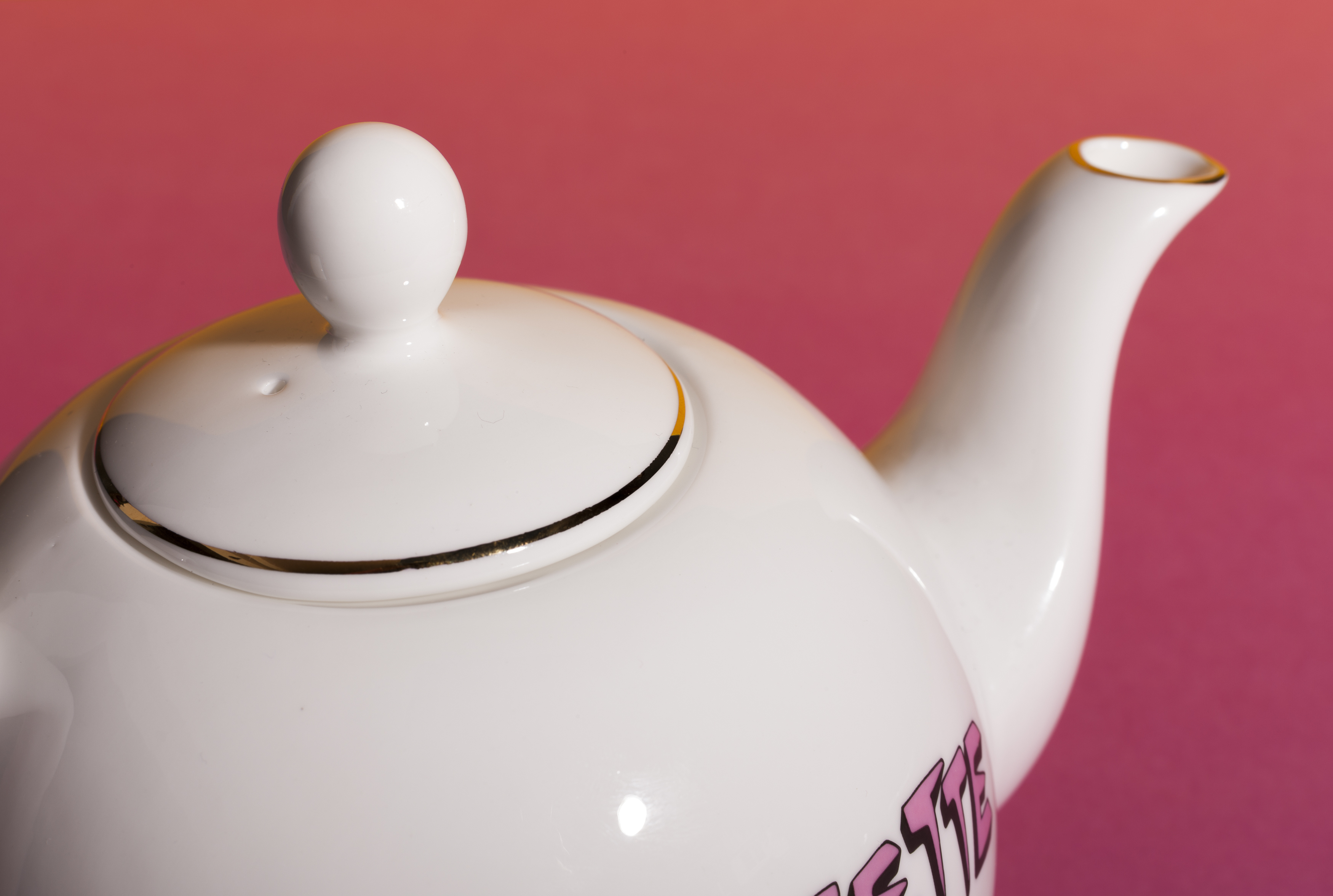Bella Freud x Gillian Wearing Range Tea Pot by Plinth on curated-crowd.com