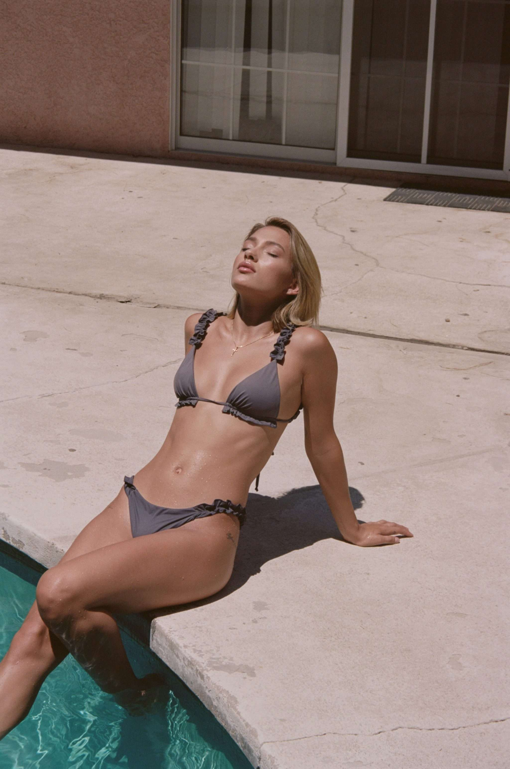 The Hera Bottom Light Grey by Aya Label on curated-crowd.com