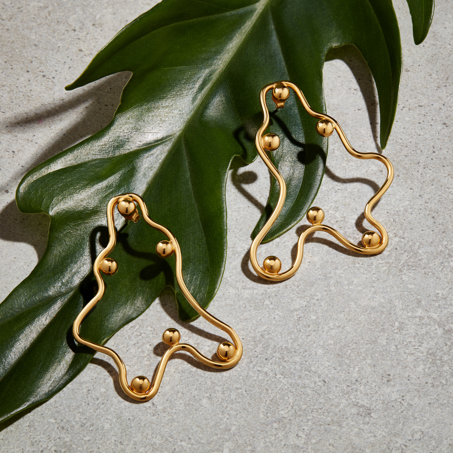 Cuvez Dos Nay Earrings by Jill Hopkins Jewellery on curated-crowd.com