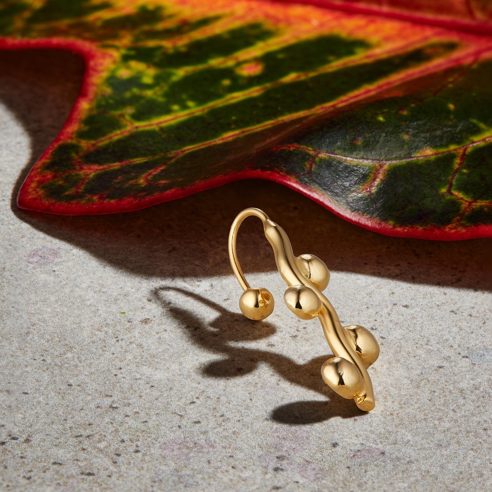 Stick Ear Cuff by Jill Hopkins Jewellery on curated-crowd.com