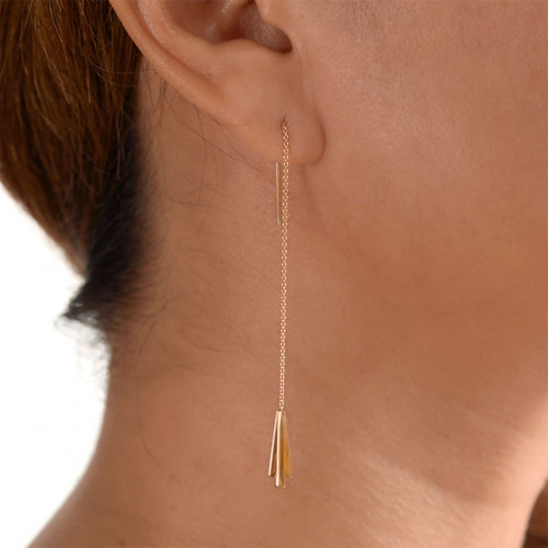Keystone Earrings by The Straits Finery on curated-crowd.com