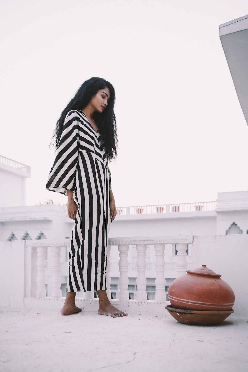 Essaouira Cotton Dress by A Perfect Nomad on curated-crowd.com