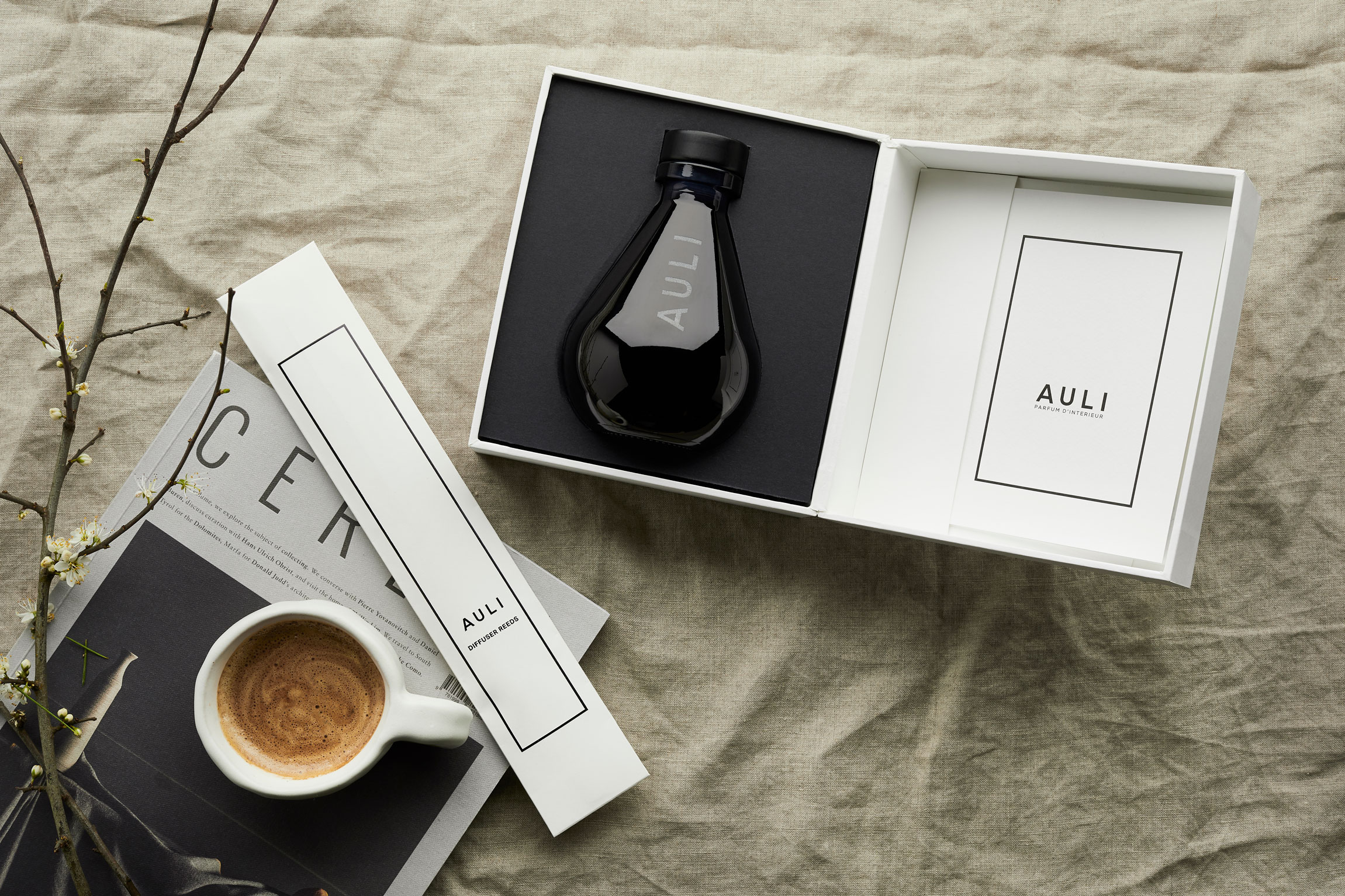 Cedrello Citron | Reed Diffuser by Auli London on curated-crowd.com