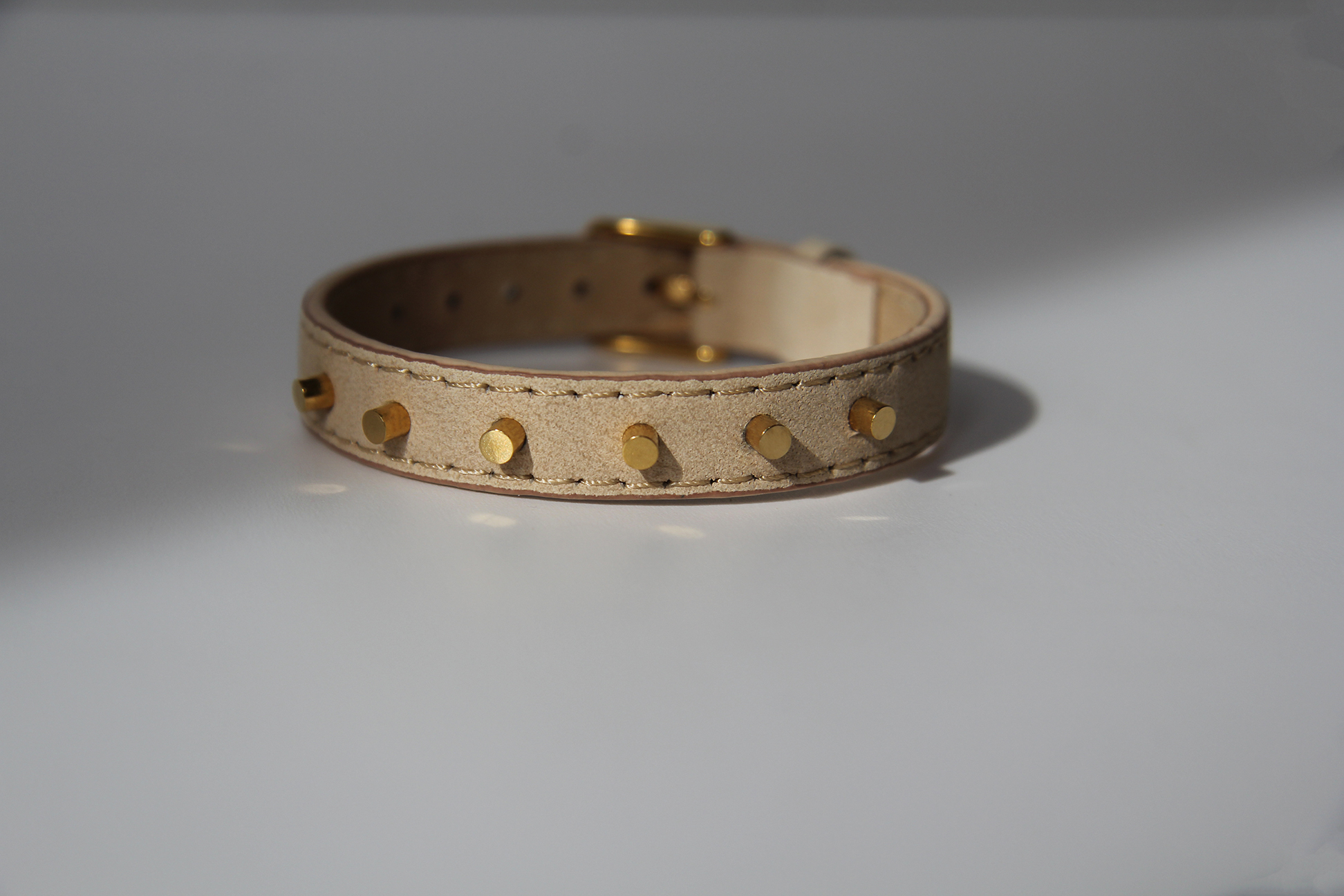 Leather Bracelet Cylinders by Maramz on curated-crowd.com