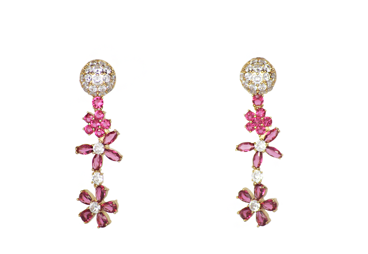 Sunflower Seed Earrings by Lalou London on curated-crowd.com