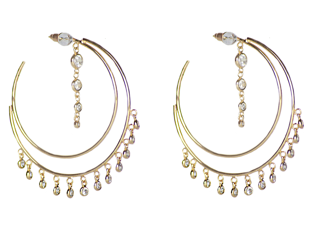 Turkish Delight Earrings by Lalou London on curated-crowd.com