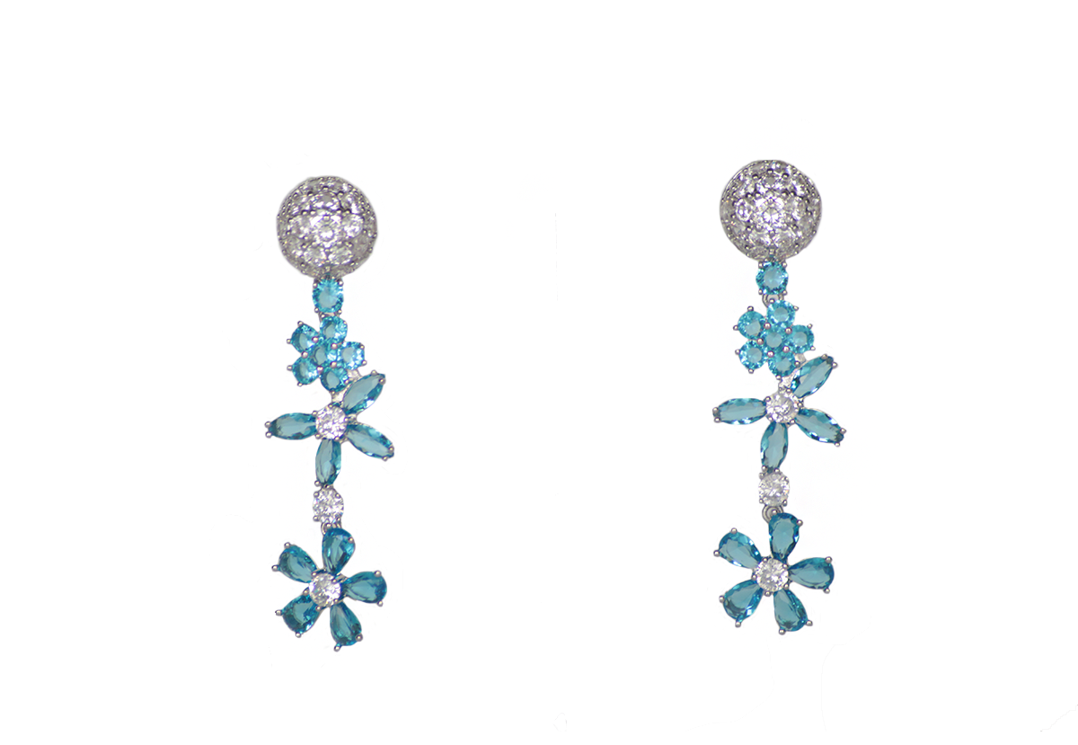 Lukewarm Sea Earrings by Lalou London on curated-crowd.com