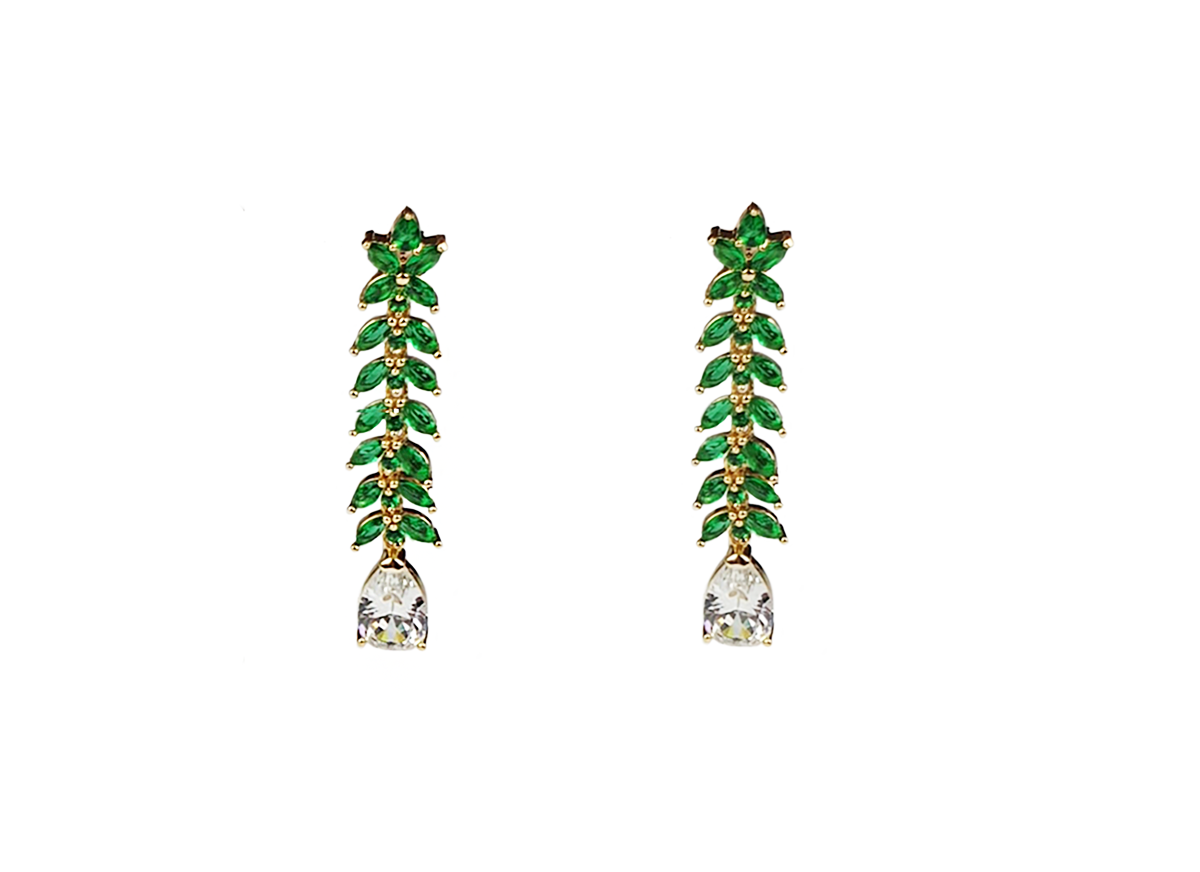 Waterfall Earrings by Lalou London on curated-crowd.com