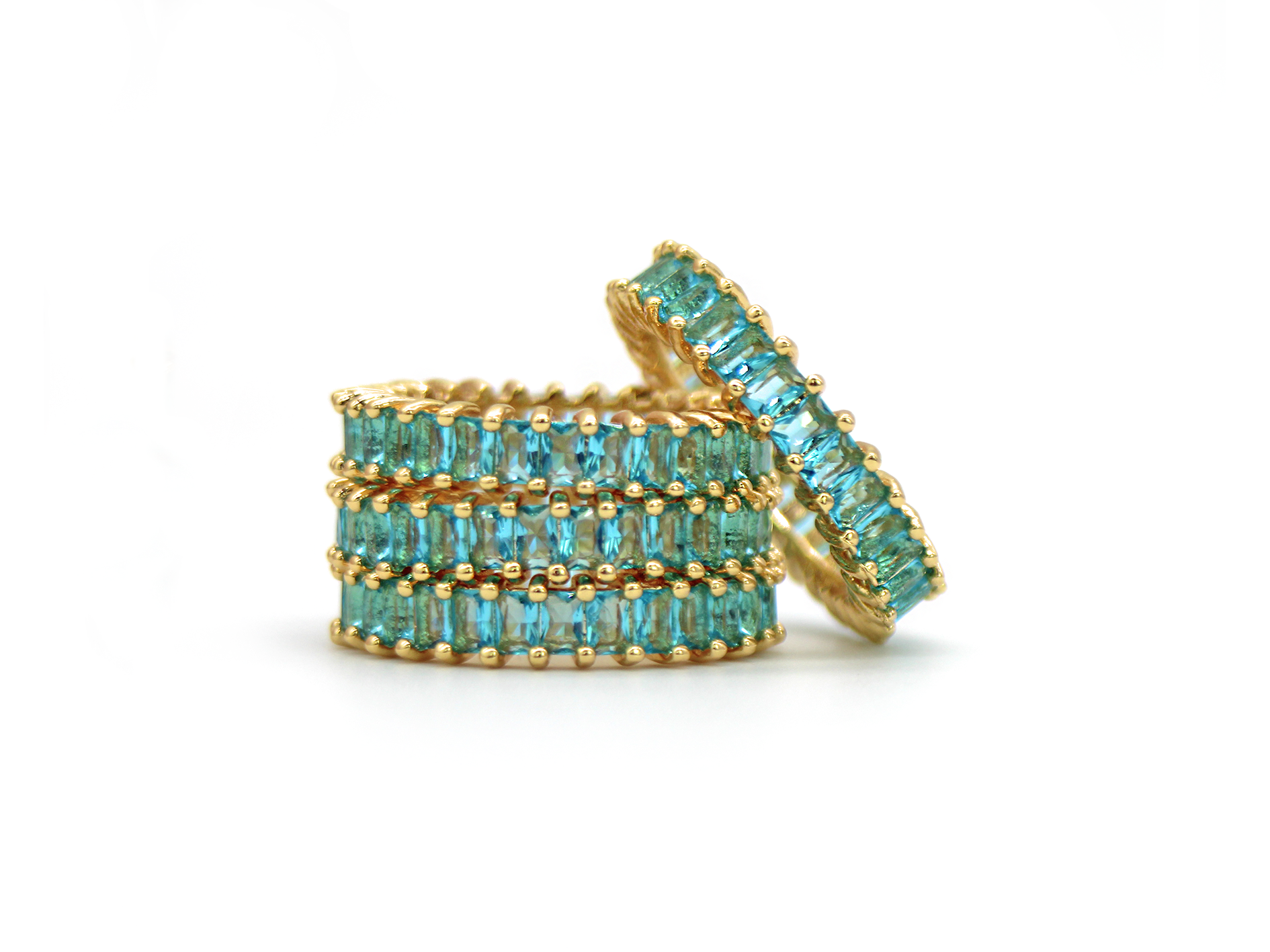 Mer Bleue Ring by Lalou London on curated-crowd.com