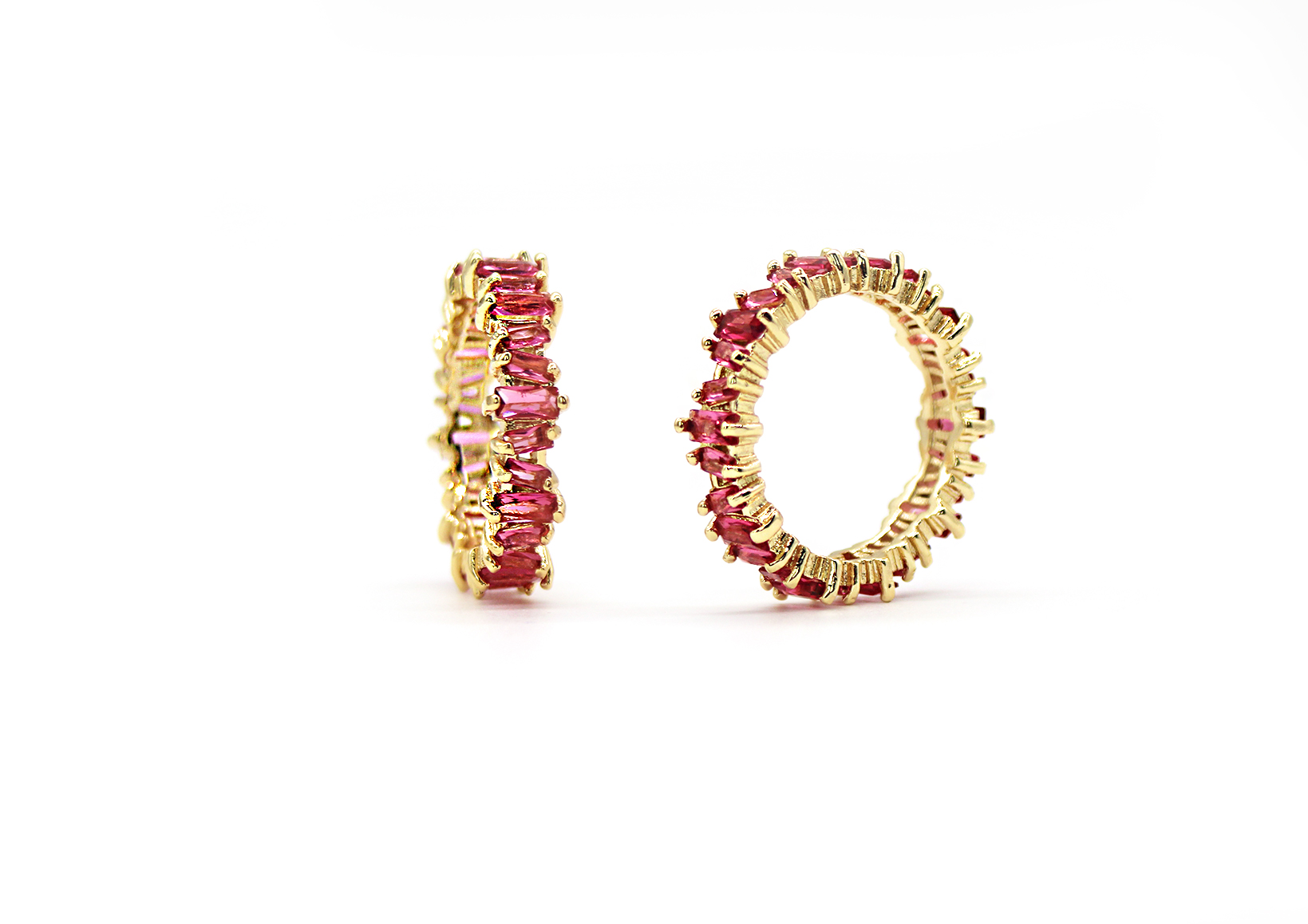 Trés Rouge Ring by Lalou London on curated-crowd.com